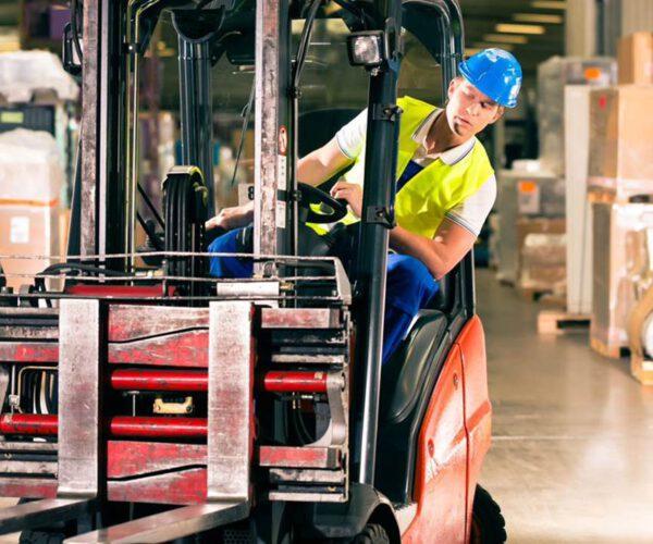 Logistiek & Transport ducotex heftruck chauffeur